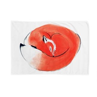 ねむりきつね Blankets