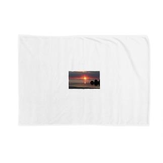 夕日 Blankets