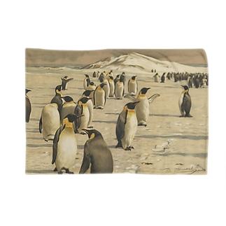 ペンギン<アンティーク・イラスト> Blankets