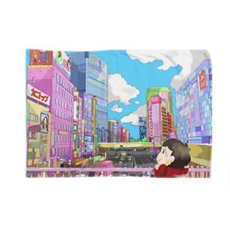 仙台の街並み Blankets