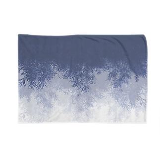 Willow (Blue gray) ブランケット