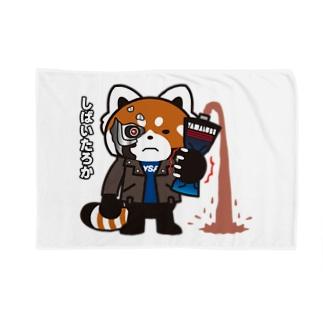 YSパンダ・サイボーグ Blankets