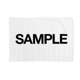 だのSAMPLE|サンプル Blankets