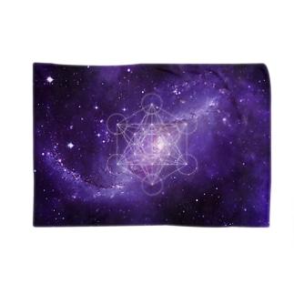 宇宙TEE002(神聖幾何学)  Blankets
