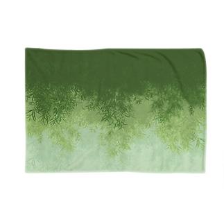 Willow (Green) ブランケット