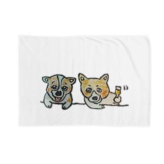 ハナちゃんとコロンくん Blankets