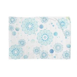 寒椿(Blue) Blankets