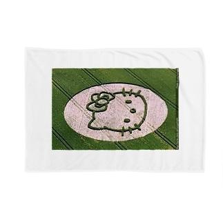 ミステリーサークル1 Blankets