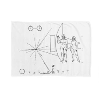 パイオニア探査機の金属板 Blankets