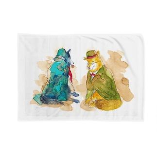 WOLF Holmes & Watson Blankets