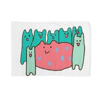 カコマレーズ Blankets