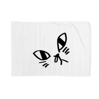 鼻炎ネコ Blankets