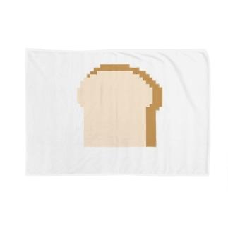 ドット 食パン Blankets