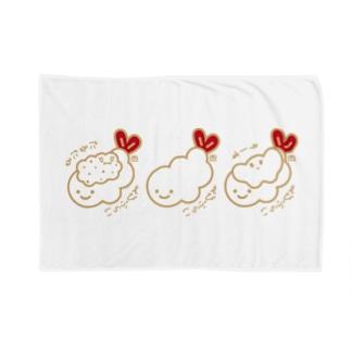 2色3食(しぶい) Blankets