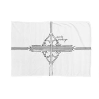 クローバー型インターチェンジ Blankets