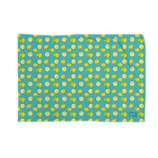 レモン in mint Blankets