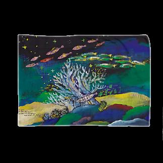 savaのうみのなか 木のサンゴ Blankets