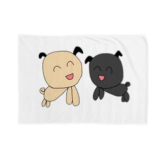 ぱぐちゃん ふたり Blankets