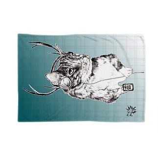 鹿山猫 Blankets