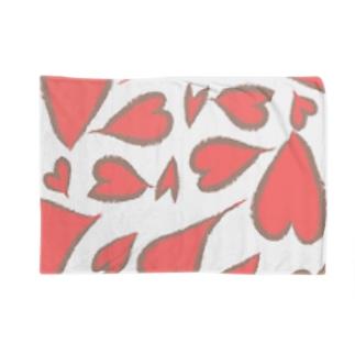 ハートブランケット Blankets