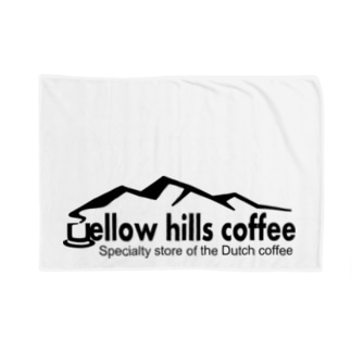 yellow hills coffee ブランケット