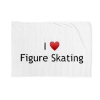 I♥️Figure Skating  Blankets