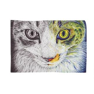 ボールペン画/カラーボールペン画 Blankets