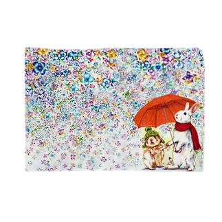 雨紫陽花 Blankets