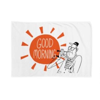 GOOD MORNING Blankets