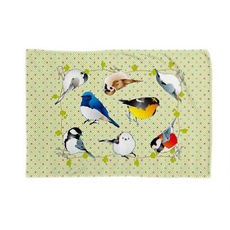 可愛い野鳥たち Blankets