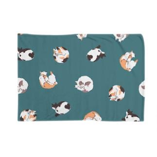 ネコパターンA Blankets