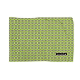 アーガイル(黄緑/グレイ) Blankets