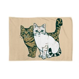 仲良し2匹 Blankets
