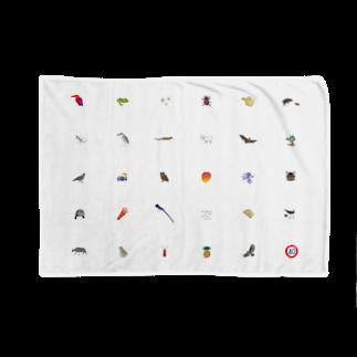 しまのなかまfromIRIOMOTEのしまのなかま28 白 Blankets