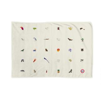 しまのなかまfromIRIOMOTEのしまのなかま28 キナリ Blankets