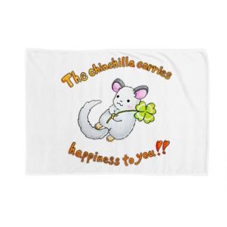 幸せを運ぶチンチラさん Blankets