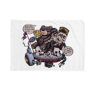 Are you bear?(カラー) Blankets