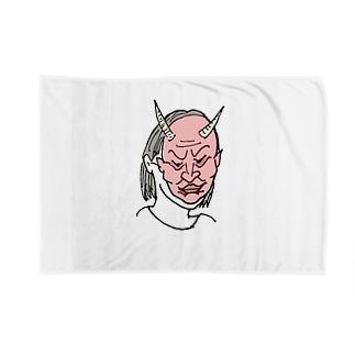 プンプン節分 Blankets
