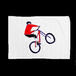 NIKORASU GOのMTBデザイン「RIDE」 Blankets