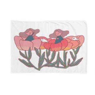 おはなのようせい Blankets