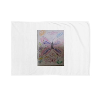花とちょうの王国 Blankets