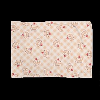 *momochy shop*のカップケーキうさぎ Blankets