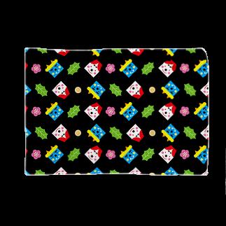 YASUKOのSETSUBUN(ブラック) Blankets