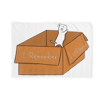 段ボールねこ(Do you remember?) Blankets