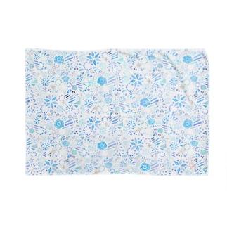 彩のきらめき<ブルー>  Blankets