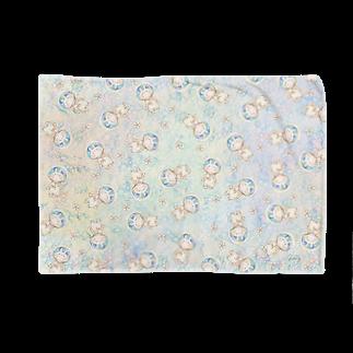 *momochy shop*の宇宙うさぎ Blankets