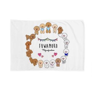 Fuwamoko × Mofumofunotami  Blankets