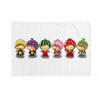 fruits gokko Blankets