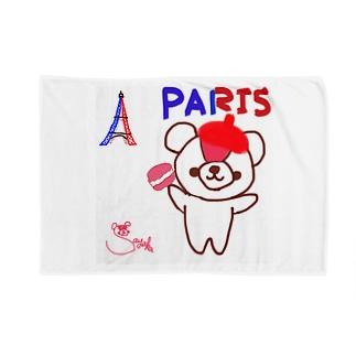 パリとおせんちゃん Blankets