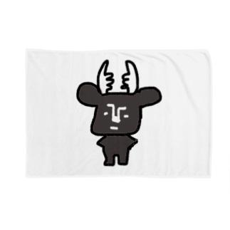 黒BUSHIKA Blankets